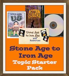 KS2 History | Stone Age Children's Books