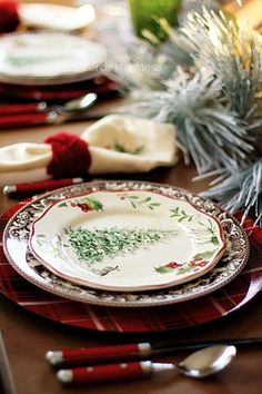 Christmas Dining - Back Porch Musings