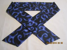 "Extra Wide 3"" Reusable Non-Toxic Cool Wrap / Neck Cooler  - Motorcycles/Goth - Purple Flames by ShawnasSpecialties on Etsy"