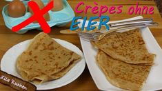 Crepes ohne Ei - Rezept von Lila Kuchen Chocolate Chip Cookies, Purple Cakes, Bread, Party, Food, Youtube, French Crepes, Marble Cake, Meal