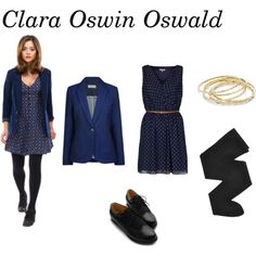 """Clara Oswald set #1"" by tardisfreak on Polyvore"