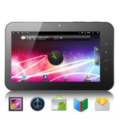# List Price:  US$282.96  Price:        * US$        € £ CA$ AU$ HK$ CHF ¥    129.99  Meet Sirius Android 2.3 Tablet with 7 HD Inch Capacitive Touchscreen, a new Tablet PC with upgraded hardware and software for you to enjoy multimedia entertainment, play games, surf internet and more!    Better Multimedia Entertainment  The Sirius comes with a brilliant 7 inch screen and improved speaker for you to better enjoy movies and music. With a resolution of 800x480 pixels, photos.