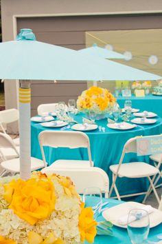 27 Best Turquoise Yellow Wedding Colors