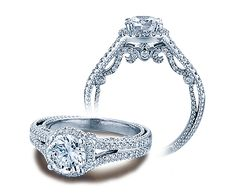INSIGNIA-7062R engagement ring from The Insignia Collection of diamond engagement rings by Verragio