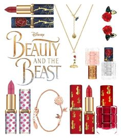 """Beauty & The Beast ❤"" by thedarlingdiaries-ie on Polyvore featuring beauty, L'Oréal Paris and Disney"