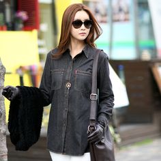 Denim is a trend that has gained its popularity in the warmer seasons such as spring and summer, but it is quickly becoming a more popular trend throughout the colder months, as well.  Denim button-up shirts, vests, and jackets can instantly update any old wardrobe into a more modern and fashionable trend.