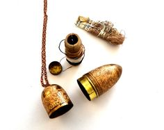 Victorian Chatelaine Sewing Kit Necklace