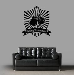 Ik1375 Wall Decal Sticker Kick Boxing Ring Gloves Tournament Living Room Gym StickersForLife http://www.amazon.com/dp/B00Z39HQ1O/ref=cm_sw_r_pi_dp_9GeDvb1FXN3S7