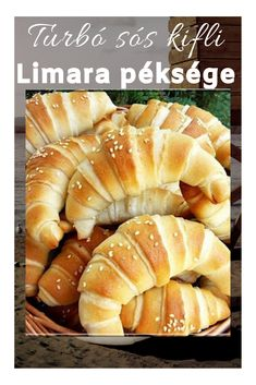 Bread Recipes, Cooking Recipes, Healthy Recipes, Low Calorie Cocktails, Hungarian Recipes, Lunch Meal Prep, Bread Baking, Food To Make, Breakfast Recipes
