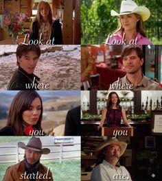 """ Heartland ""Look at where you started. Heartland Georgie, Heartland Season 11, Watch Heartland, Amy And Ty Heartland, Heartland Quotes, Heartland Ranch, Heartland Tv Show, Heartland Actors, Country Girl Quotes"