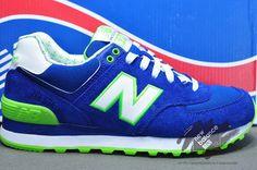 2013 nuevos zapatos auténticos de los zapatos corrientes de los hombres Sailing Series wl574ykg de