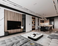 TAIWAN INTERIOR 09 on Behance Interior Concept, Modern Interior, Interior Styling, Living Area, Living Room, Bed Back, Taiwan, Modern House Design, Architecture Design