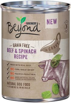 Purina Beyond Natural Grain Free Wet Dog Food- 12-12.5 oz. Cans -- Review more details here : Dog food types