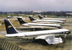 BOAC B707 & Vickers VC10's