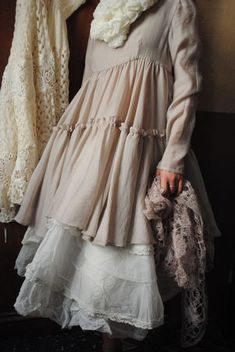 shabby clothes Les Ours/France. I think I must be fascinated by France.....