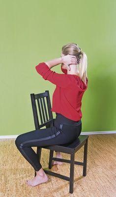 Cielené cvičenie prospieva telu nielen zvonka. Floor Chair, Detox, Hair Beauty, Exercises, Exercise Routines, Excercise, Work Outs, Workout