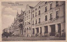 Heilsberg, Ostpr. Marktplatz, Nordseite  https://www.facebook.com/lostprussia/photos/a.608946445846264.1073741861.517377898336453/777987482275492/?type=1