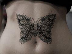 tatuaż motyl #motylek #tatuaże #tatuażemotyle