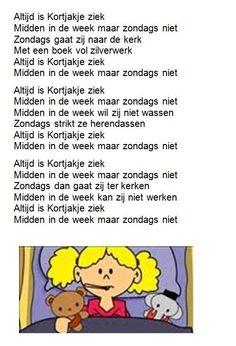 Dutch Language, Kids Songs, Childhood Memories, To My Daughter, Lyrics, Education, Learning, Children, Fun