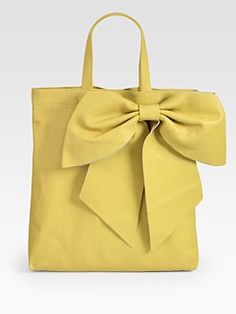 I love Valentino bows..on shoes, dresses, purses..