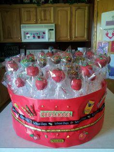 Apple cakepops