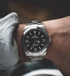 Dream Watches, Luxury Watches, Rolex Watches, Watches For Men, Rolex Explorer Ii, Black Luxury, Audemars Piguet, Omega Watch, Mens Fashion