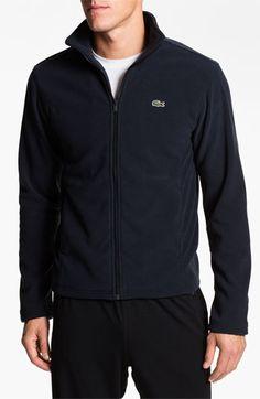Lacoste Full Zip Mesh Lined Sport Jacket : Outerwear | Trajes ...