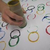 winter olympics decorations | UPPAbaby Creative Corner - Olympic Ring Painting! Use this craft to ...