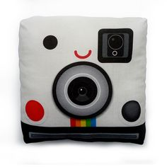 Soooo cute I have to buy it! Mini Pillow Polaroid Camera by mymimi on Etsy $18