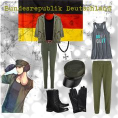 Hetalia: Germany inspired by sweetly-evil on Polyvore