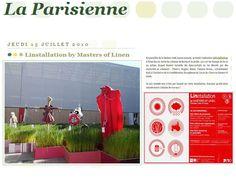 La parisienne 2010 Monster by on aura tout vu at palais royal