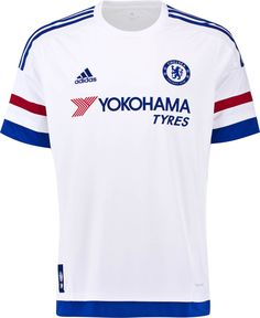 Chelsea Football Club Away Jersey 2015 to 2016 Medium Adult Soccer England  #adidas