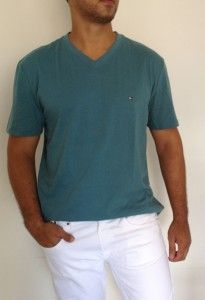 Camiseta Tommy Hilfiger Verde TH6045