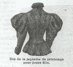 Les Fées Tisseuses :: Patrons 1800 à 1910 gratuits France Mode, Couture, Cashmere Dress, Morning Coat, Paper Pieced Patterns, Haute Couture