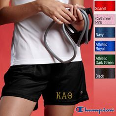 Kappa Alpha Theta Sorority Champion Mesh Shorts