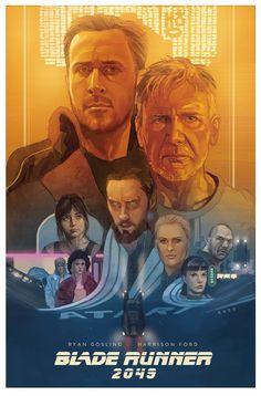 'Blade Runner 2049' por Phil Noto