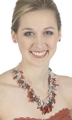 Single-Strand Necklace with SWAROVSKI ELEMENTS