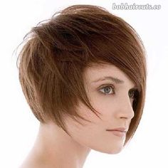 20 Asymmetrical Bob with Bangs - 14 #BobHaircuts