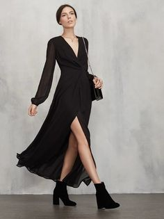 In case you were looking for that easy, perfect to wear anywhere dress - the Keplar Dress. Don't say we never did anything for you. https://www.thereformation.com/products/keplar-dress-black?utm_source=pinterest&utm_medium=organic&utm_campaign=PinterestOwnedPins