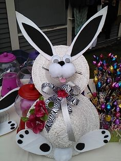 My Easter bunny wreath