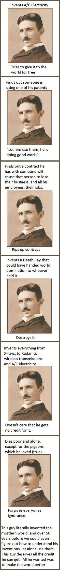 Good Guy Tesla… #lol #haha #funny