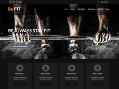 WordPress › SKT BeFit « Free WordPress Themes Best Free Wordpress Themes, Wordpress Template, Health Club, Losing A Pet, Stay Fit, Personal Trainer, Lose Weight, Templates, Pilates