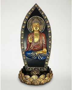 Sitting Buddha Incense Burner - Spencer's