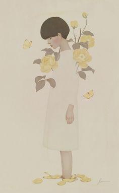 Fallen Flower 2015 by Jiwoon Pak