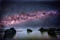 Seeing the Milky Way above Forresters Beach in New South Wales, #Australia.