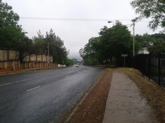 Gonna miss this road to work! Gonna misa working at he Spur down this road! South Africa, Sidewalk, Country Roads, Side Walkway, Walkway, Walkways, Pavement
