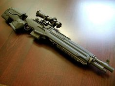M1A with Archangel stock