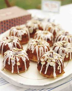 See our Mini Almond Bundt Cakes galleries
