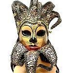 Wholesale Venetian style cat mask http://www.awnol.com/store/Masks/Venetian-Style-Masks