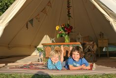 Family Bell Tent Glamping